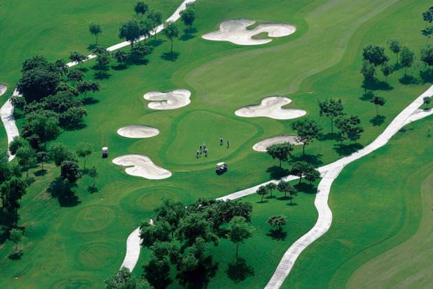 Jaypee Greens GOlf course Aerial View (Source - The hindu)