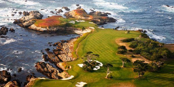 This is the cypress point golf course California- The ultimate bad boy out of all the golf courses