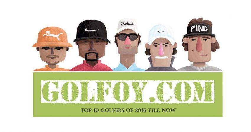 Top 10 Golfers of 2016