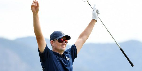 Getty Images:- Justin Rose.