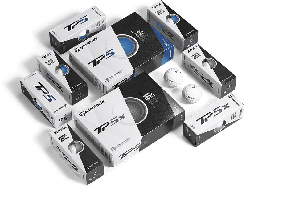 First Look: TaylorMade TP5 and TP5x Golf Balls
