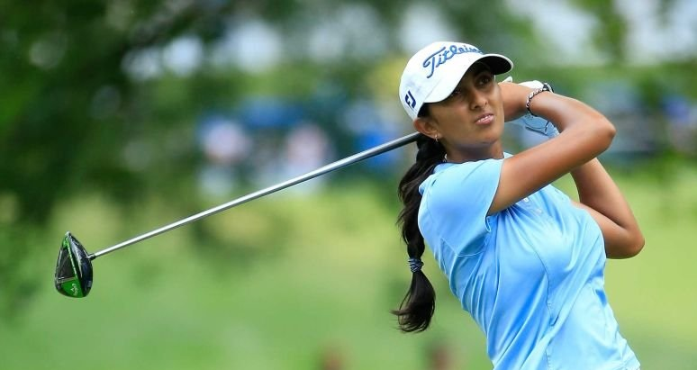 Aditi ashok golf player